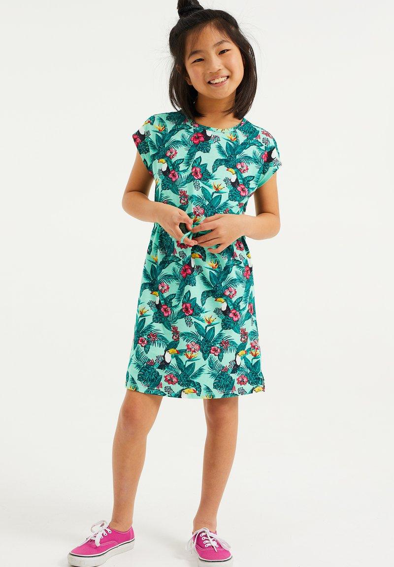 WE Fashion - Jersey dress - multi-coloured