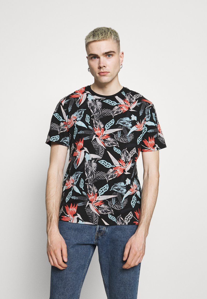 Only & Sons - ONSKLOP LIFE TEE - T-shirt con stampa - black