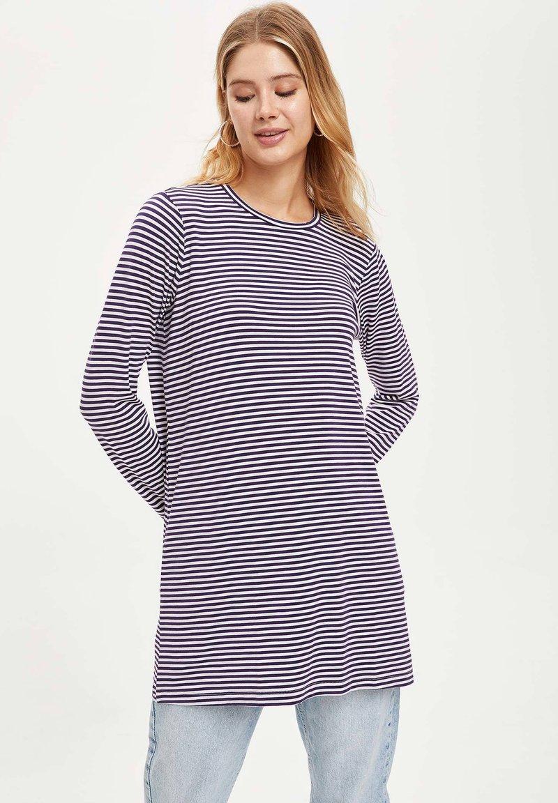 DeFacto - Long sleeved top - purple