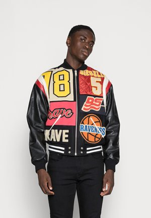 Leather jacket - multicolour