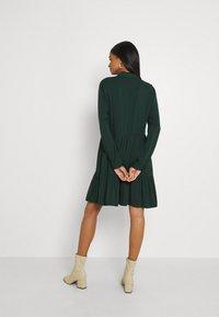 Vila - VIMOROSE SHIRT DRESS - Day dress - darkest spruce - 2