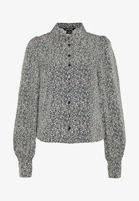 Monki - NALA BLOUSE - Camicia - black - 3