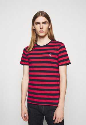 T-shirt print - racing red/french