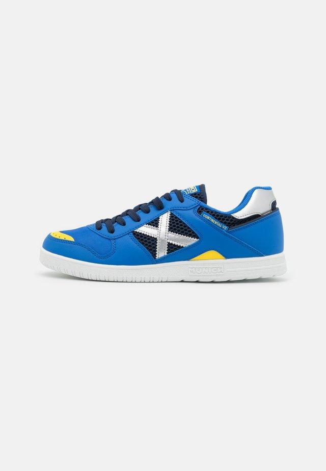 CONTINENTAL V2 - Scarpe da calcetto - blue/white