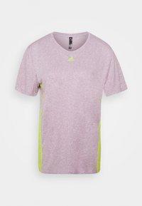 adidas Performance - 3 STRIPE TEE - Camiseta de deporte - berry - 5