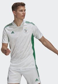 adidas Performance - T-Shirt print - white - 0
