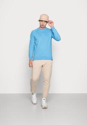 BASIC CREW 2 PACK - Sweatshirt - light blue melange