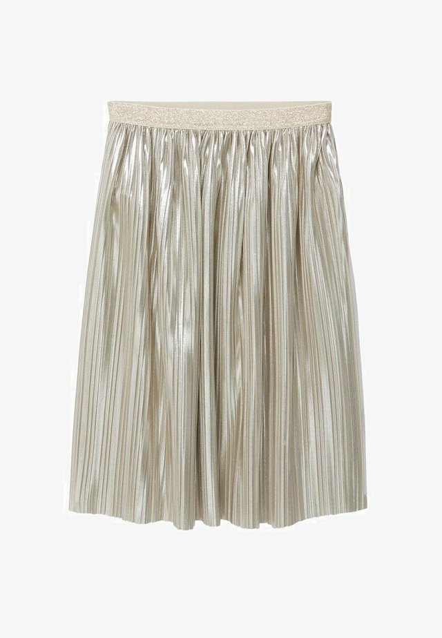 A-line skirt - goud