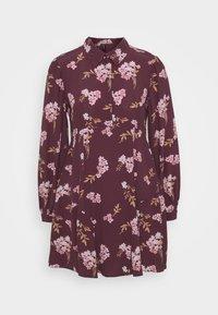 Vero Moda Petite - VMRIBINA DRESS - Shirt dress - fig - 4