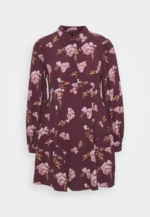 VMRIBINA DRESS - Shirt dress - fig