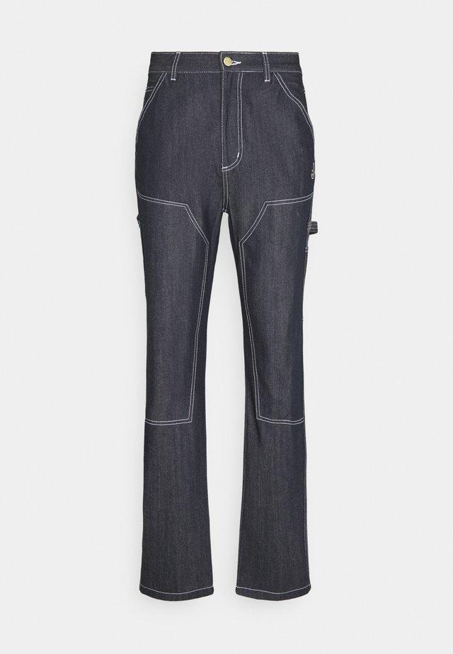 NITE MARAUDER PANTS UNISEX - Straight leg jeans - indigo blue