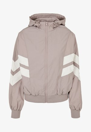 CRINKLE BATWING  - Outdoor jacket - duskrose/whitesand