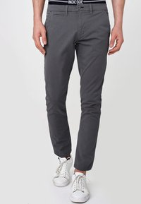 INDICODE JEANS - CREED - Chinos - black - 3