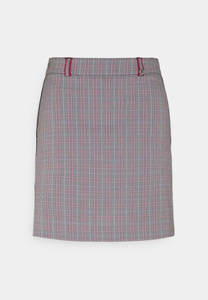CLUB CHECKED SKORT - Sports skirt - red flame