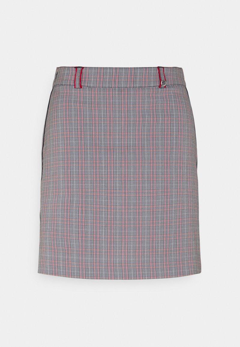 Golfino - CLUB CHECKED SKORT - Sports skirt - red flame