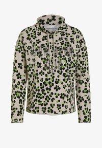 Oui - IM ANGESAGTEM PRINT - Sweatshirt - light grey green - 5
