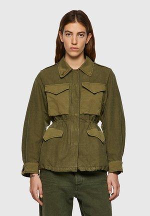 Denim jacket - military green