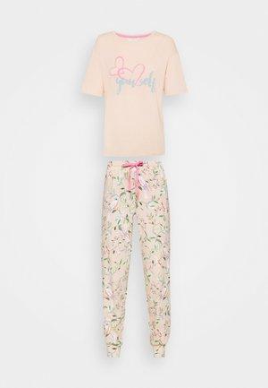 LOVE  - Pyžamo - peach mix