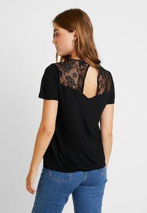 VMROBIN - Print T-shirt - black