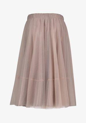 Jupe trapèze - rose nude
