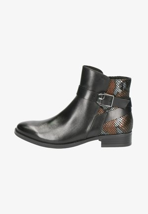 STIEFELETTE - Ankle boots - black snake co