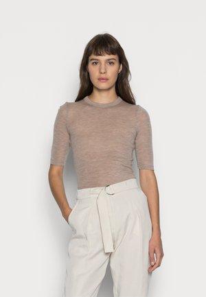 T-shirt basic - oat melange