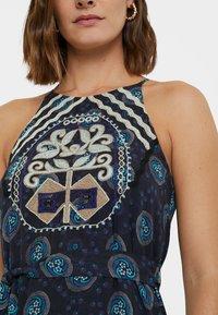 Desigual - DESIGNED BY M. CHRISTIAN LACROIX: - Robe d'été - black - 3