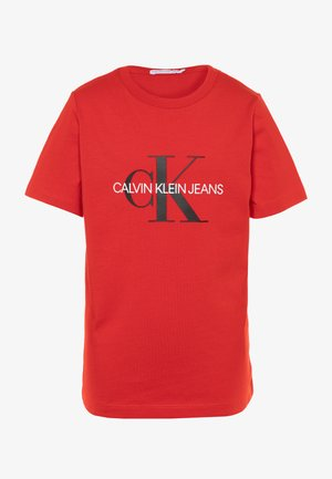 MONOGRAM LOGO UNISEX - T-Shirt print - red
