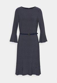 Lauren Ralph Lauren - PRINTED DRESS - Jersey dress - navy/colonial - 4