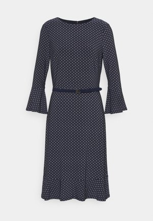 PRINTED DRESS - Žerzejové šaty - navy/colonial