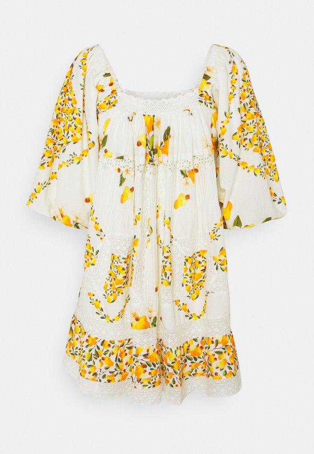 CASHEW MINI DRESS - Korte jurk - off white