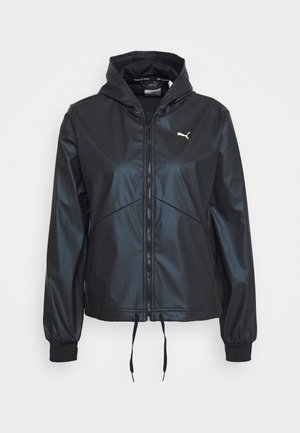 TRAIN WARM UP JACKET - Trainingsjacke - black