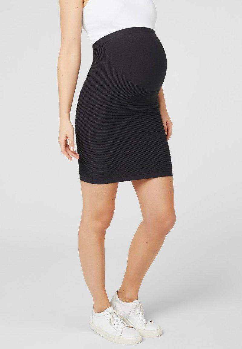 MAMALICIOUS - Pencil skirt - black