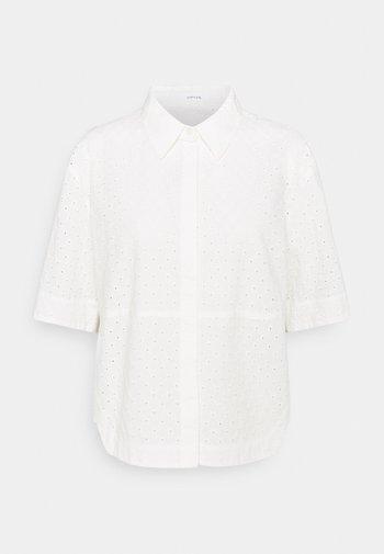 FRIEDI - Button-down blouse - white