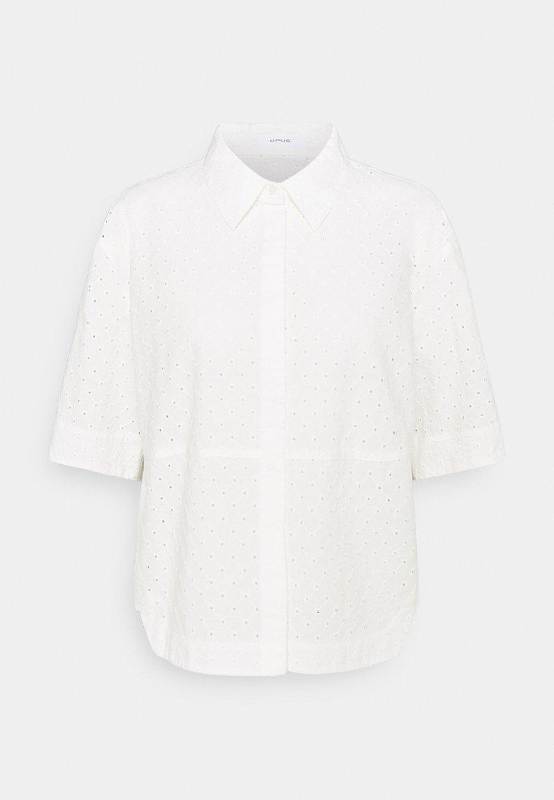 Opus - FRIEDI - Button-down blouse - white