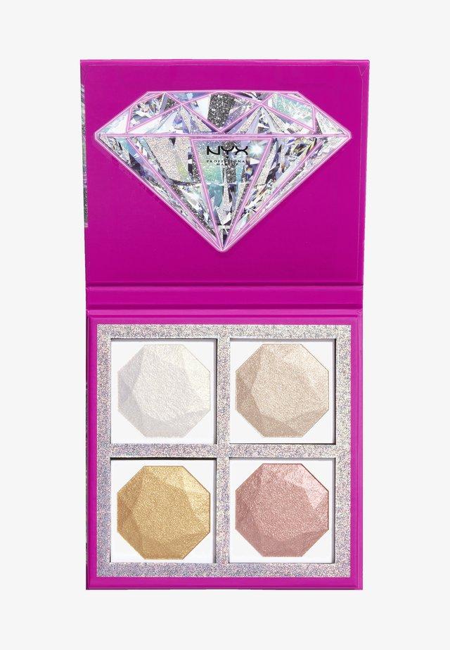 DIAMOND HIGHLIGHTING - Sminkpalett - -