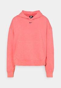 Nike Sportswear - WASH HOODIE - Sweatshirt - sunset pulse/black - 5