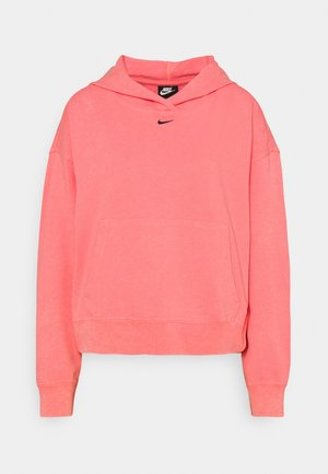 WASH HOODIE - Sweatshirt - sunset pulse/black