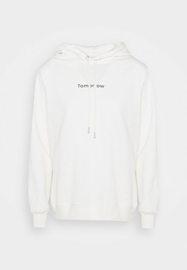 CASUAL HOODIE - Sweatshirt - ecru