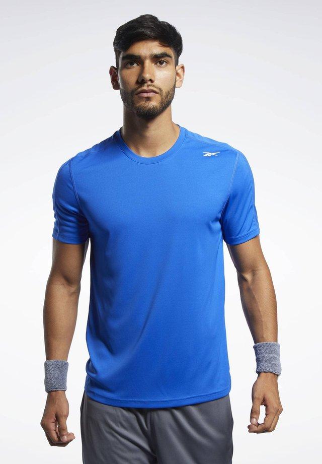 WORKOUT READY POLYESTER TECH TEE - Sports shirt - blue