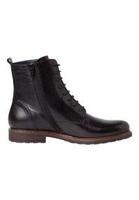 Tamaris - Lace-up ankle boots - black - 5