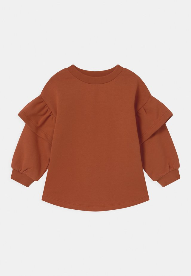 Sweatshirt - orange dark