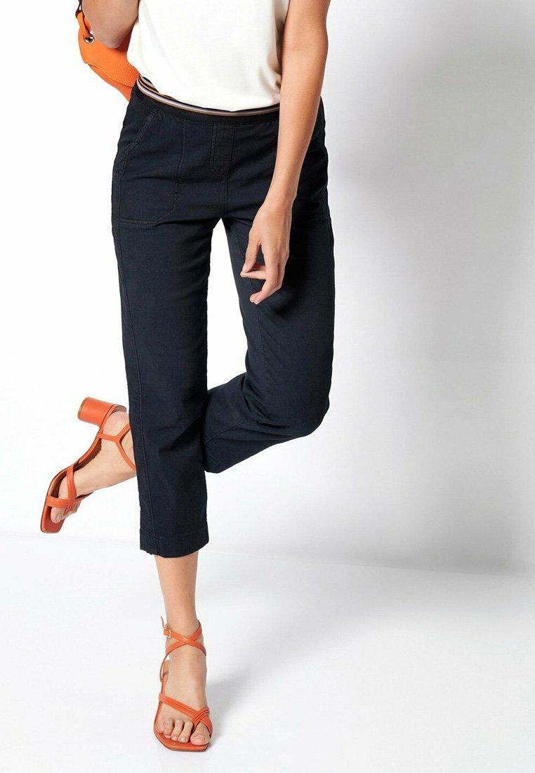 TONI - SUE - Trousers - darkblue