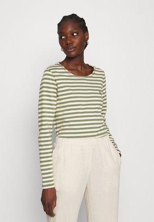 NEVADA  - Topper langermet - green/white