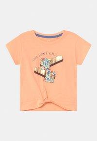 Lemon Beret - SMALL GIRLS - T-shirts print - prairie sunset - 0