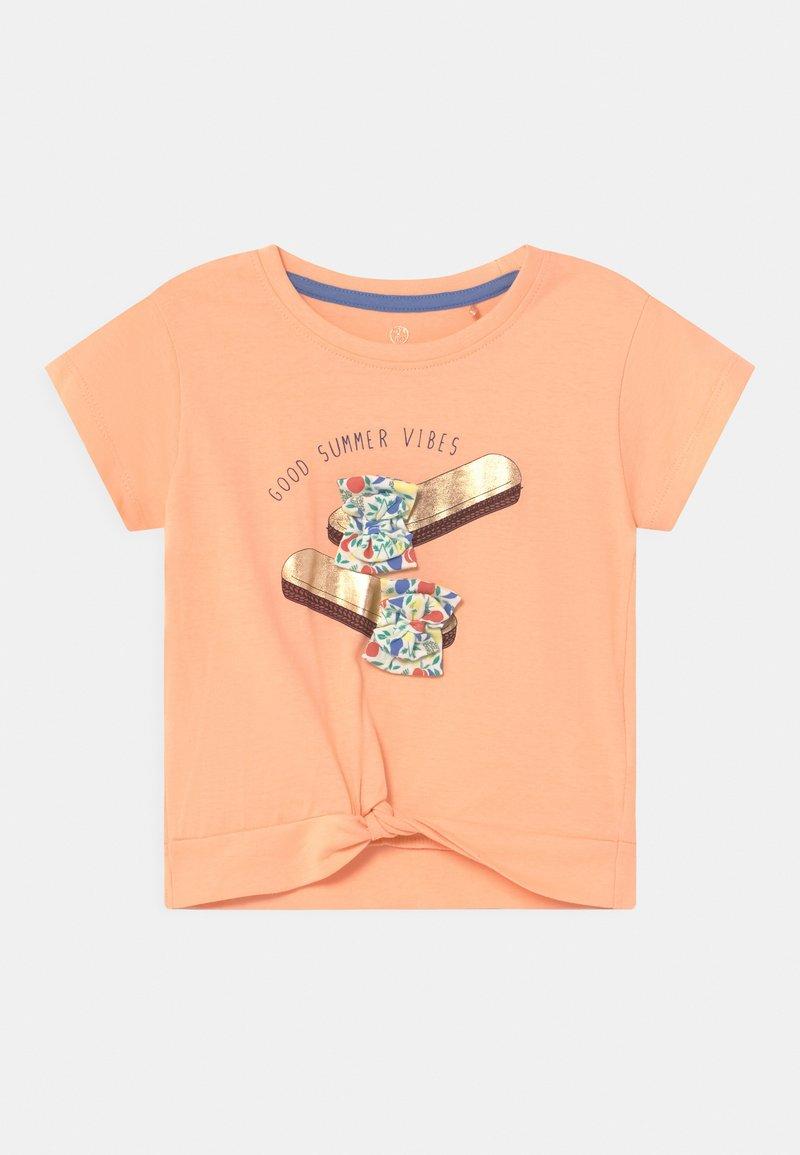 Lemon Beret - SMALL GIRLS - T-shirts print - prairie sunset