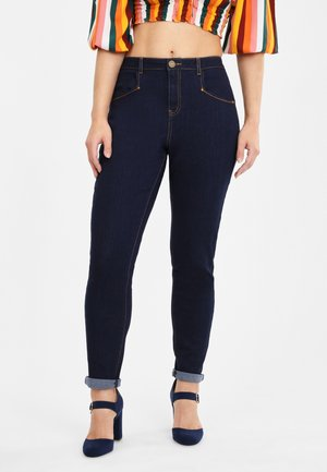 ANGELA - Jeans Skinny Fit - navy