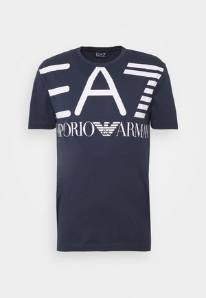 T-shirts print - navy blue