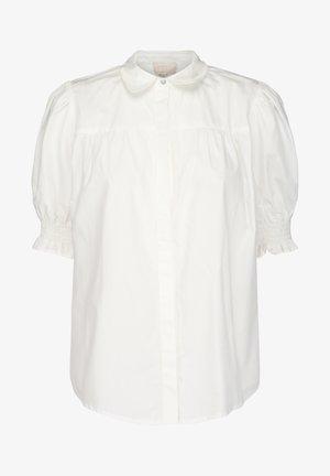 ALETTE  - Button-down blouse - cloud dancer