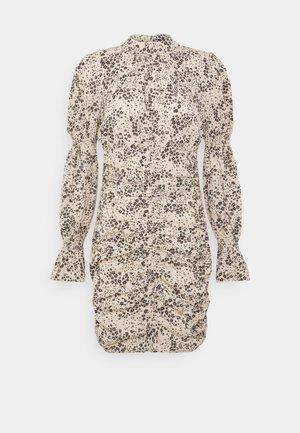 FLORAL HIGH NECK DRESS - Cocktail dress / Party dress - multi coloured